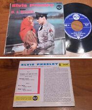 RARE French EP 45t BIEM (7') ELVIS PRESLEY (7/1961)