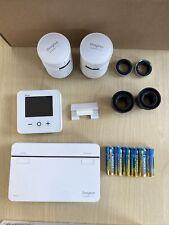 Drayton Wiser multi-zone kit 1 + 2 radiator valves. De-registered & ready to use