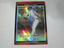 2002 Bowman Chrome Refractor # 60 Kerry Wood (B19) Chicago Cubs # 399 of # 500