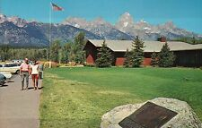 Visitor Center Fur & Trade Museum Grand Teton National Park Wyoming WY, Postcard