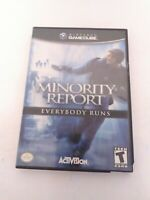 Minority Report (Nintendo GameCube, 2002) Complete Tested & Fast Shipping