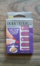 NAILENE DURA COLOUR NAIL STRIPS FOR FINGERS & TOES NO CHIP COLOR #77656 PURPLE