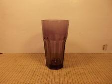 """Libbey Crystal Gibraltar Dark Purple / Violet Cooler Glass 6 3/8"""" x 3 1/2"""""""