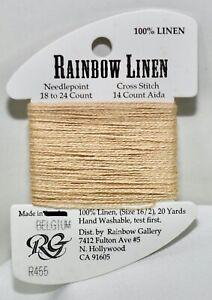 Rainbow Gallery Rainbow Linen 16/2 20 yards linen R455 beige