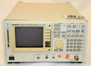 Advantest R3261C Spectrum Analyzer 9 kHz - 2.6 GHz, Tested (2) hs