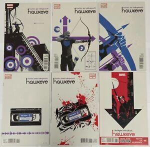 Hawkeye Complete 2012 23 Issue Series Set 1-22 Plus Annual 1 Matt Fraction Aja