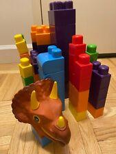 New listing Baby's First Blocks Basics Plastic Toy, dinosaur