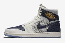 Nike Air Jordan I 1 High Retro Flyknit JETER RE2PECT YANKEES NY AH7233-105 7.5