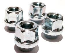 4 x wheel open nuts lugs bolts. M12 x 1.5 Taper seat - Alfa Romeo