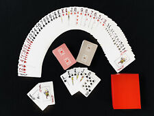 Lot of 2 New GEMACO 100% Plastic Poker Playing Cards Lot of 2 Decks