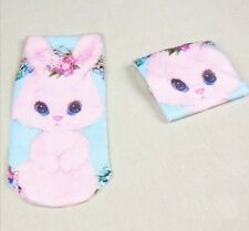 FD882 Japanese Harajuku Cartoon Animal Fashion Print Socks ~Cute Rabbit 1 Pair:)
