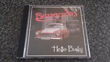 DIE/THE BARRACUDAS Hello Baby CD German Rockabilly RARE OOP/DELETED