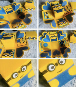 Minions Explosion Box for Gift Handmade Beautiful Love Gift New Explosion Box