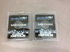 "2 Pack 24"" Chainsaw Chain 3/8"" .063 84DL SKIP TOOTH 75JGX072G Husqvarna Stihl"