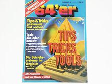 & lt 64er QUADERNO 33 & GT TIPS trucchi strumento 64'er rivista mercato & Technik (z4g024)