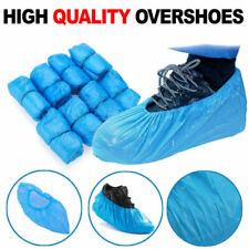 Medical Blue Shoe Cover Non Slip Disposable Floor Protectors ONE SIZE 100PCS