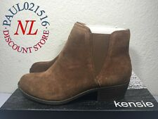 46fd909bed4 Kensie Women s Garry Bootie Short Ankle Boots Suede Brown - Various Sizes !