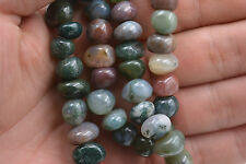 Beautiful 8x10mm India Multicolor Agate Irregular Shapes Gemstone loose beads