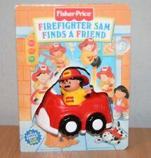 Vintage Fisher Price Bombero Sam Little People Playbook Reader's Digest 1997