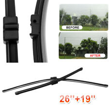 """FOR FORD FOCUS C-MAX 2003-2009 BRAND NEW FRONT WINDSCREEN WIPER BLADES 26"""" 19"""""""