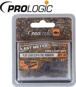 Prologic LM Mimicry Flat Leadclip Tailrubber & Speedlink für Karpfenmontagen