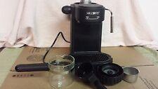 MR Coffee Steam Espresso Cappuccino Marker ECM8 Black MR. Tested and Works