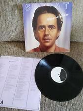 """JOAN MANUEL SERRAT BIENAVENTURADOS LP VINYL VINILO LP 12"""" VG/VG 1987 ARIOLA"""