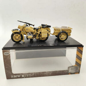 1/24 BMW R75 Panzerfaust 30 World War II Motorcycle Diecast Model Collection