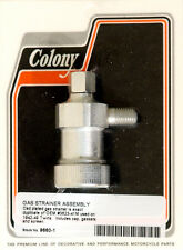 Harley 42-49 Gas Strainer Cadmium Plated Colony 9660-1