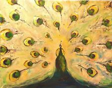 Peacock 3 Painting - Original Painting modern art - 30 x 24 by BenWill