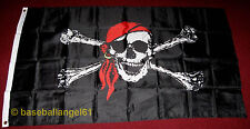 Pittsburgh Pirates~Jolly Roger 3x5 Flag~Brand New~Lets Go Bucs