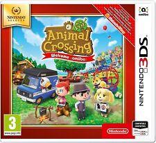 Animal Crossing New Leaf Welcome amiibo!  3DS ESPAÑOL NUEVO CASTELLANO PRECINTAD