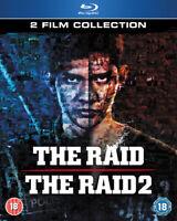 The Raid/The Raid 2 DVD Iko Uwais, Evans (DIR) cert tc 2 discs ***NEW***