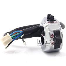 "7/8"" Chrome Motorcycle Bar Handlebar Control Light Signal Blinker Horn Switch"