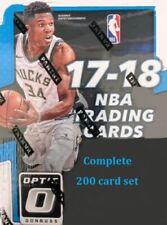 2017-18 Donruss Optic Complete 200 card set