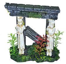 1x aquariumdeko dekoschloss TANE ACQUARI aquariumsäule säulenruine Figure NEU