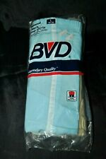 Rare Vintage Bvd Tapered Boxer Shorts 3 Pair Pack sz L 38/40 Deadstock 1985