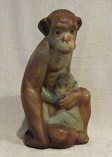 Lladro Gress Monkey with Baby # 2000