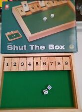 Pintoy Wooden Shut The Box Wooden Board Game