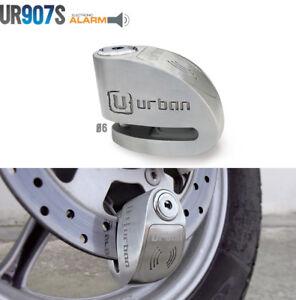 Scheibenschloss Scheibeverschluss universal mit Alarm Motorrad Urban desc
