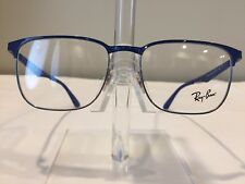 NEW! RayBan RB6363 Men's Metal Eyeglass Frame 2889 Blue - Authentic!