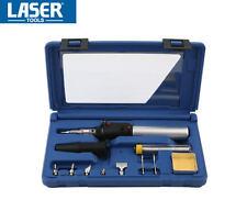 LASER 11 Pce Cordless GAS Soldering/Solder/Welding/Brazing Iron Hot Air Kit 3753