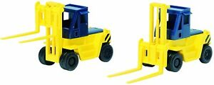 TOMIX N gauge forklift yellow two input 3517 model railroad supplies