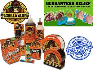 Gorilla Gorila Glue Clear Standard Super Glue Epoxy Wood Tape Adhesive Sealant