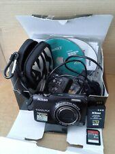Nikon Coolpix S6300 16.0MP HD Digital Camera 10x Wide Optical Lens.Working.VGC