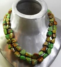 JAY KING DTR STERLING SILVER 925 NATURAL  CHINESE TURQUOISE BEADS  NECKLACE