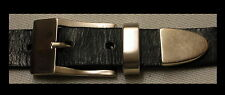PREMIUM Ledergürtel NEU Damengürtel MAßANFERTIGUNG Gürtel LEDER schmal 3-tlg. #