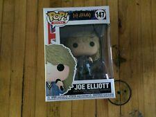 Funko Pop! Rocks: Def Leppard - Joe Elliot with Microphone #147 New In Box