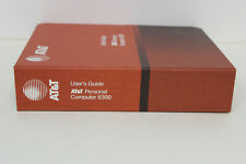 AT&T PERSONAL COMPUTER 6300 USER'S GUIDE 999-300-200IS WITH QTY 4 DISKETTES