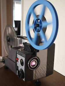 Sankyo Dualux 2000H Variable speed Dual SUPER 8 8MM CINE PROJECTOR serviced